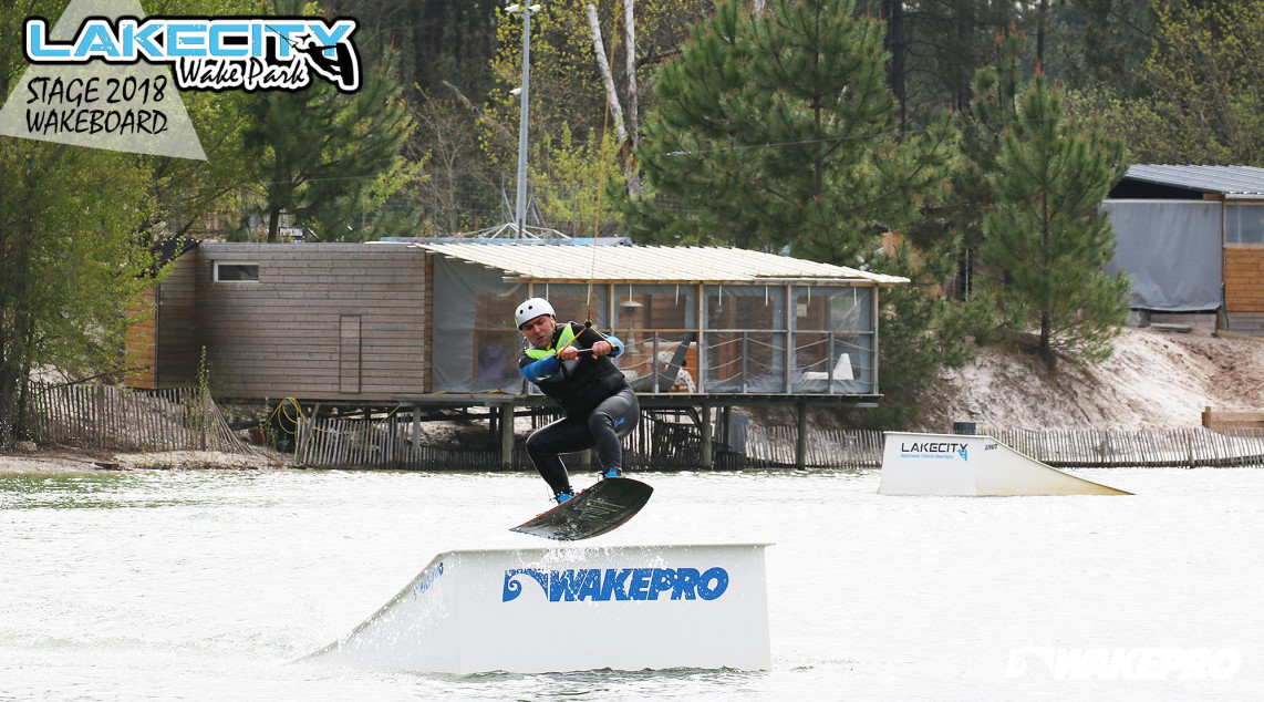 Wakepro feature in Lakecity