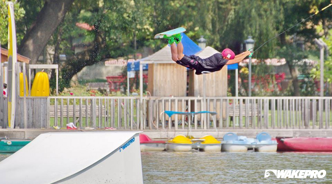 Wakepro obstacle in Zumbaala Wake Park